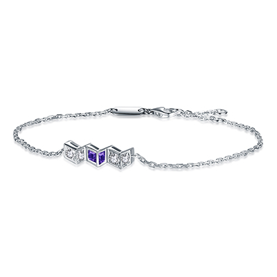Flèche Arrow Series Diamond Bracelet