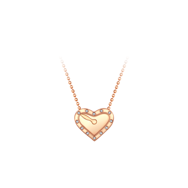 Heart of Time Diamond Chain